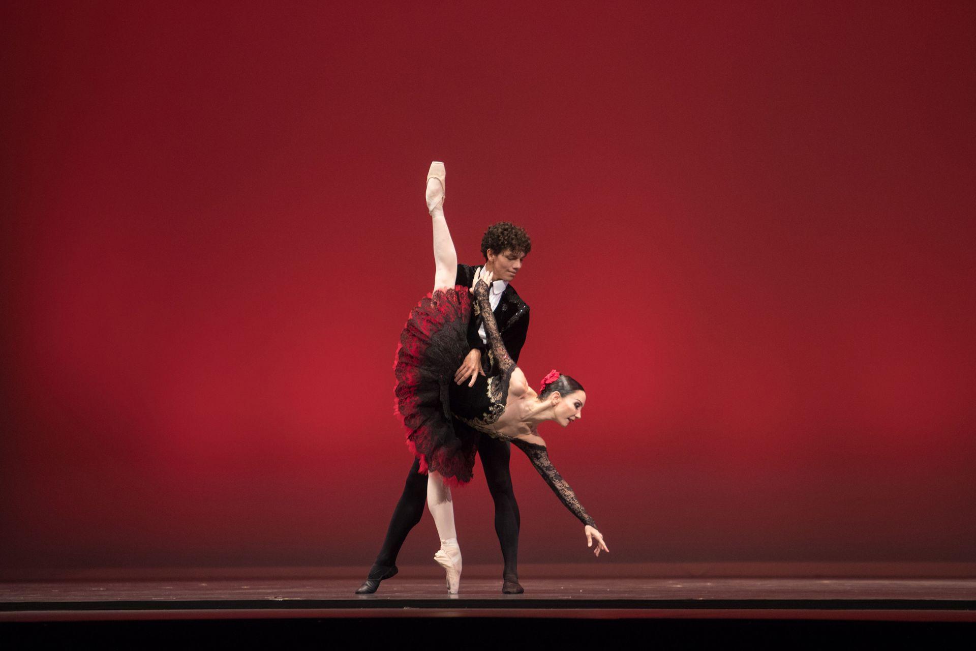 Isaac Hernández y Tamara Rojo en el pas de deux de Don Quijote