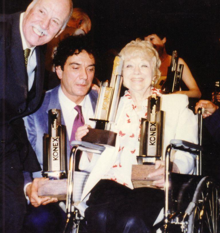 Empate: en 1981 Alfredo Alcon compartió la mayor distinción con Luisa Vehil