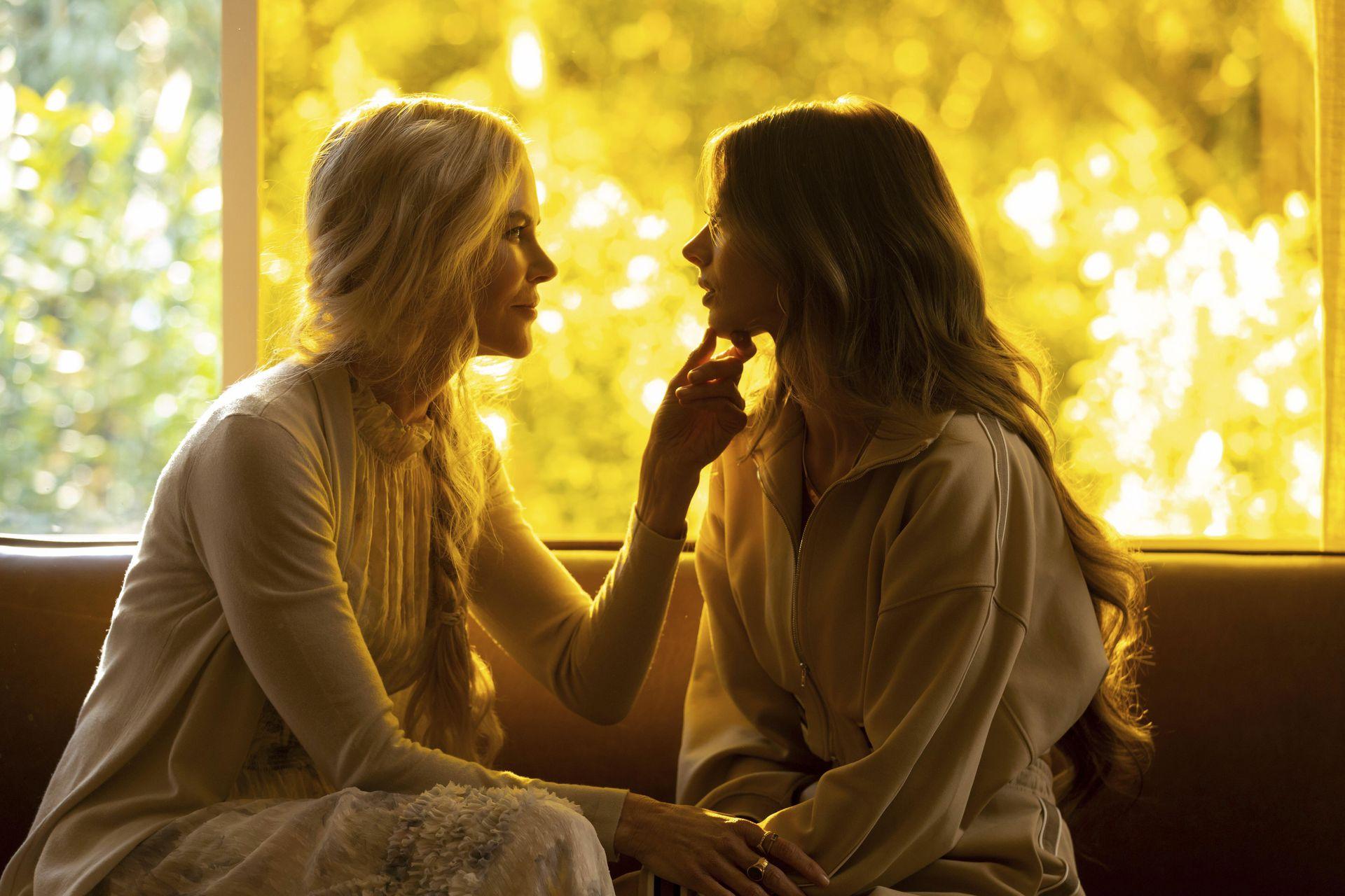 """Una escena de """"Nine Perfect Strangers"""", la serie sobre ricos recientemente estrenada"""