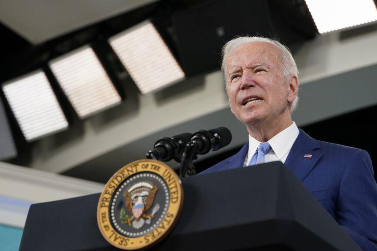 La respuesta de Biden cuando le preguntaron por el conflicto con China