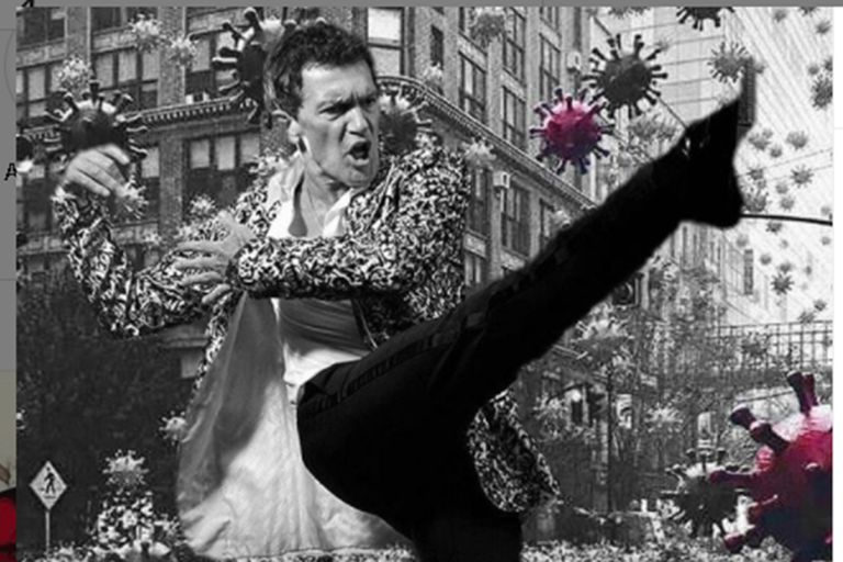 La felicidad de Antonio Banderas tras superar el coronavirus
