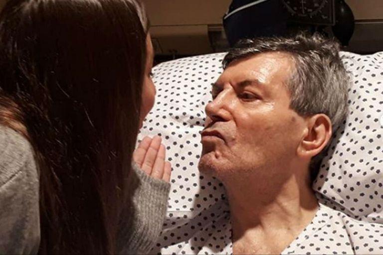 Carlos Calvo fue internado nuevamente por una infección respiratoria
