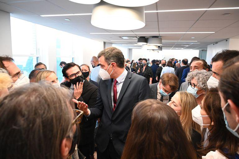 22-07-2021 El presidente del Gobierno, Pedro Sánchez, en Nueva York NORTEAMÉRICA ESTADOS UNIDOS POLÍTICA MONCLOA