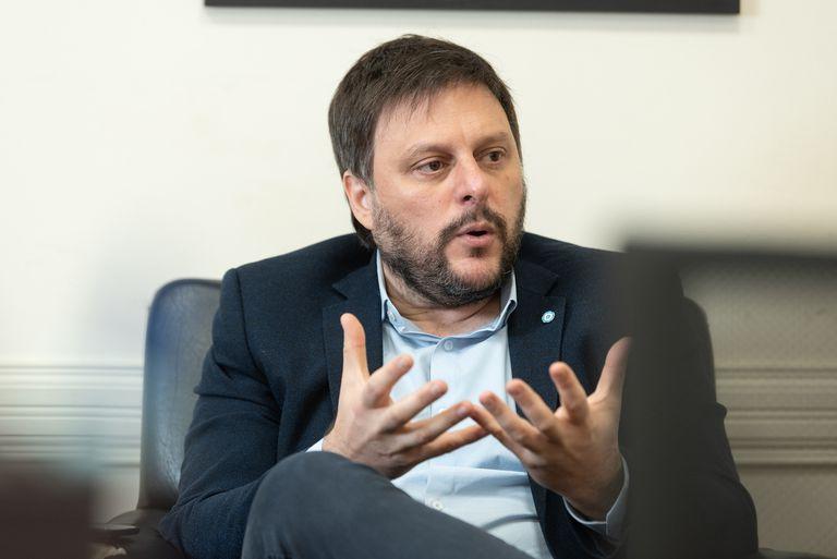 La reacción de Leandro Santoro cuando le preguntaron por el conflicto mapuche