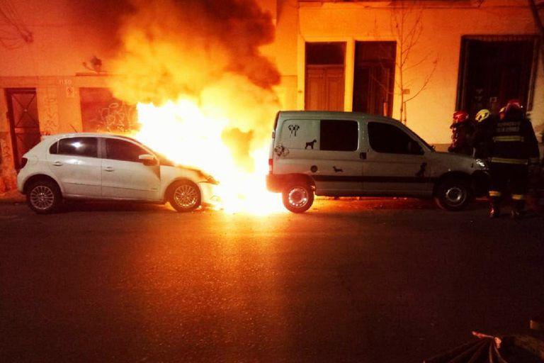 Los incidentes se registraron en varias calles del barrio