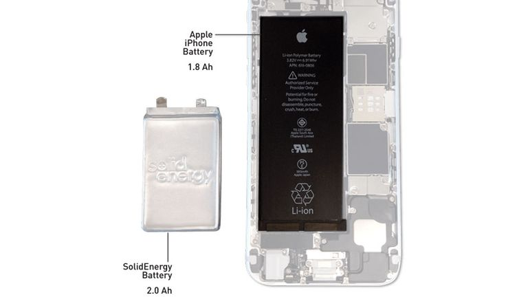 La nueva generación de baterías pueden duplicar la capacidad de los actuales modelos , según el fabricante SolidEnergy Systems