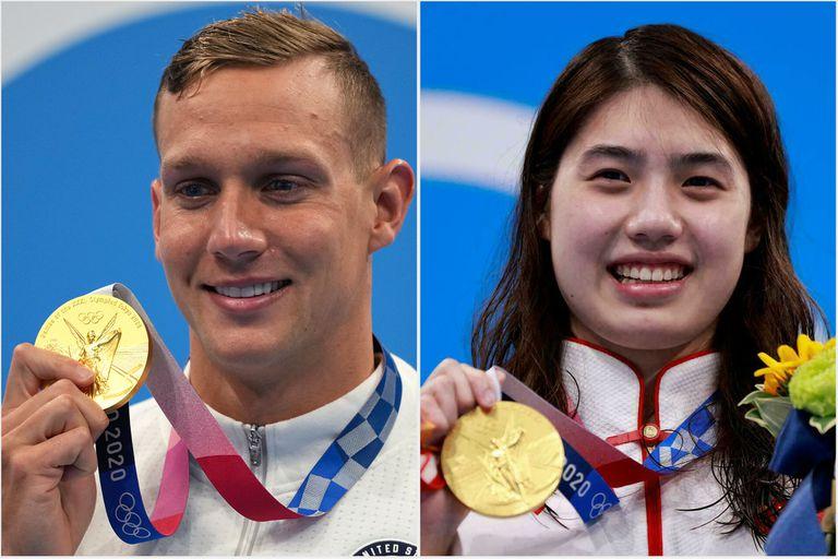 Por qué la lucha entre China y Estados Unidos por ganar los Juegos se dio vuelta en el último día