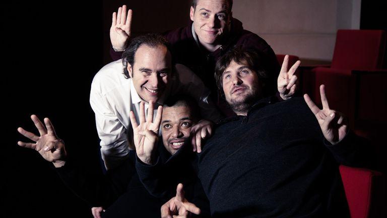Los cuatro fundadores de la universidad 42