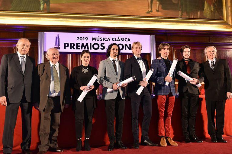 """Herman Cornejo (en Nueva York), Rodrigo Colomba, Federico Fernández, Juan Pablo Ledo y Emmanuel Vázquez fueron distinguidos en el rubro """"Bailarines"""" de la década"""