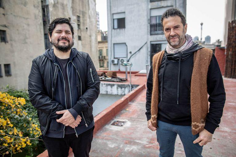 Palo Pandolfo con Santiago Motorizado de Él Mató a un Policía Motorizado