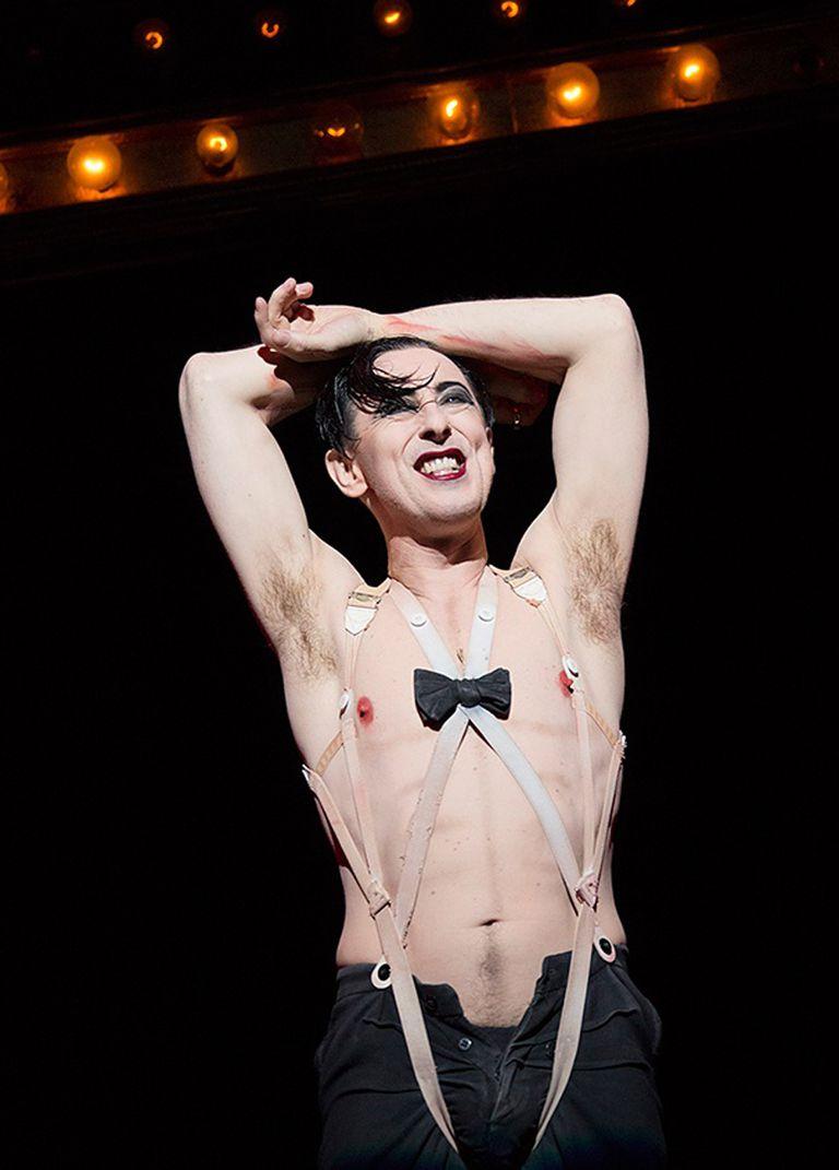 El gran Alan Cumming, en la versión de Sam Mendes de Londres y Broadway, durante la década del 90