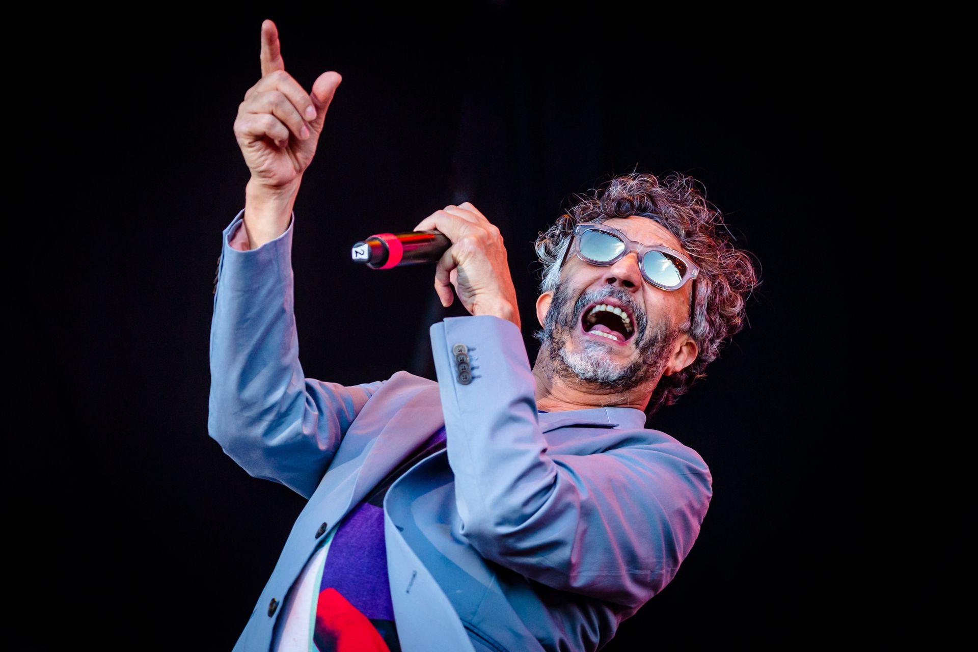 Fito Páez, uno de los números fuertes de la segunda jornada del Lollapalooza