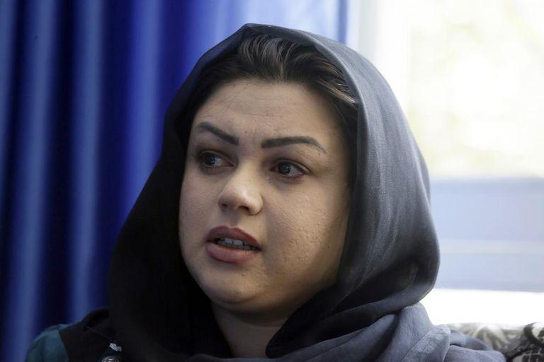 """""""Hoy nuevamente, siento que si los talibanes llegan al poder, volveremos a los mismos días oscuros"""", dijo la activista."""