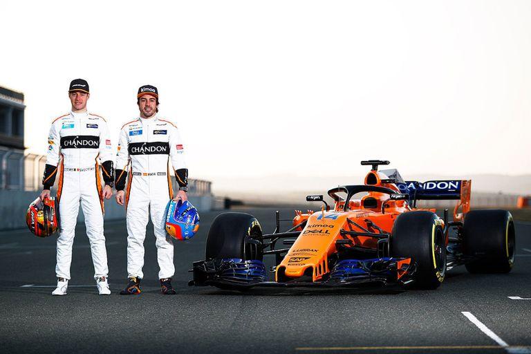 McLaren presentó su MCL33 con la ilusión de volver a ser competitivo en la F1