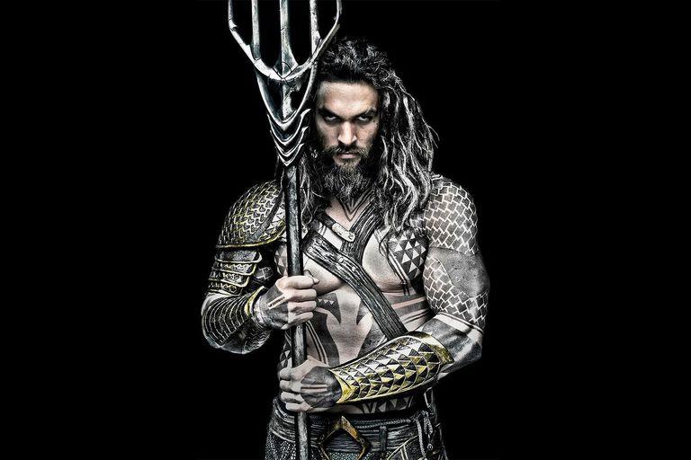 Una de las primeras imágenes de Jason Momoa como Aquaman