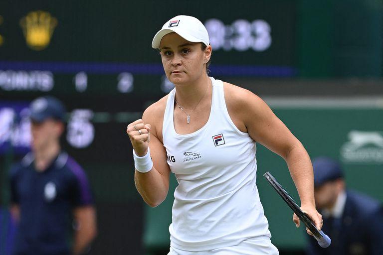 Ash Barty, la primera australiana en 41 años en la final de Wimbledon