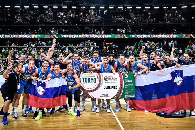 El primer boleto para Tokio 2020 de los cuatro que otorgó la FIBA por los repechajes olímpicos se lo quedó Eslovenia