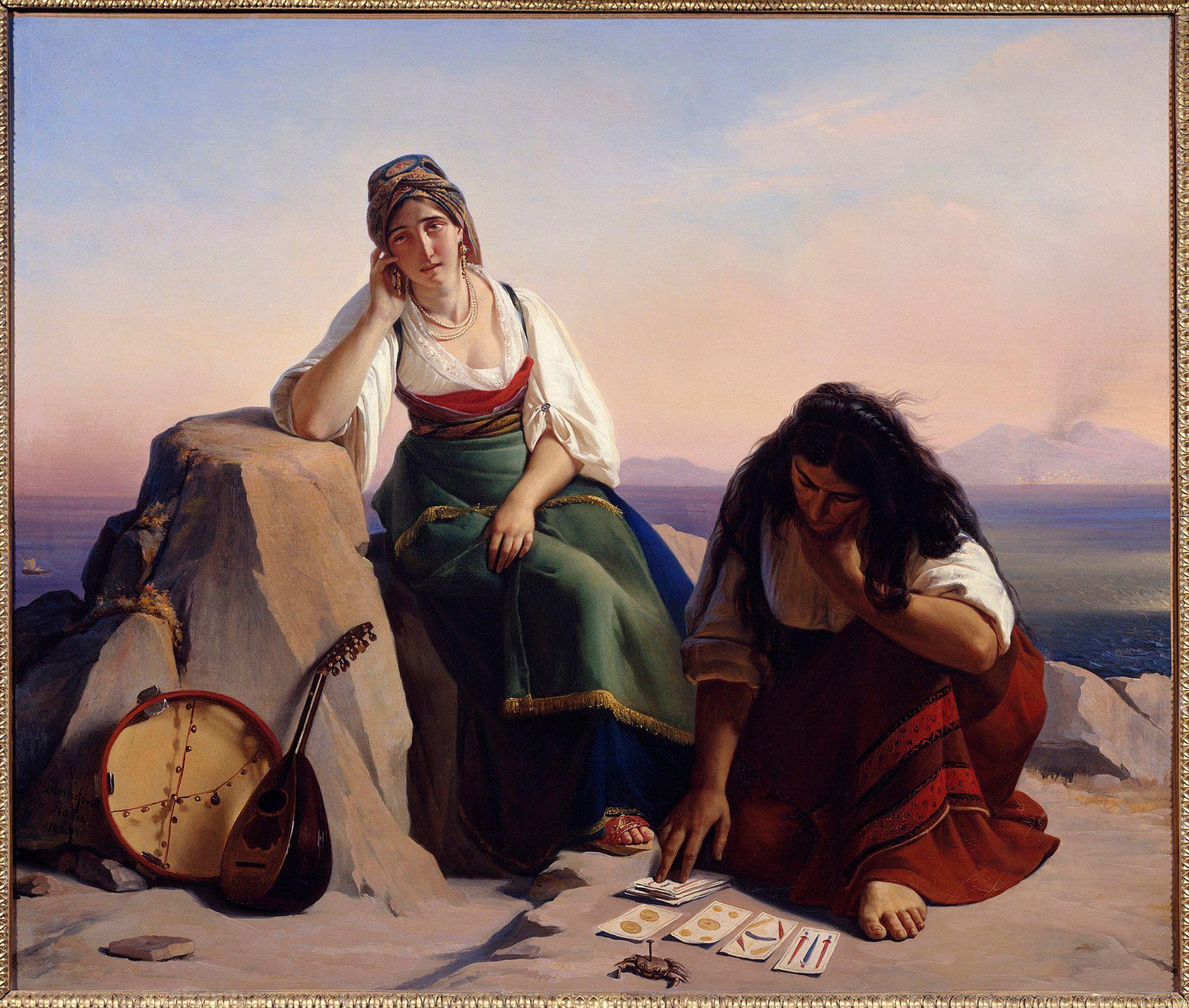 Una de las tantas obras de arte que representan el interés por el Tarot a lo largo de la historia
