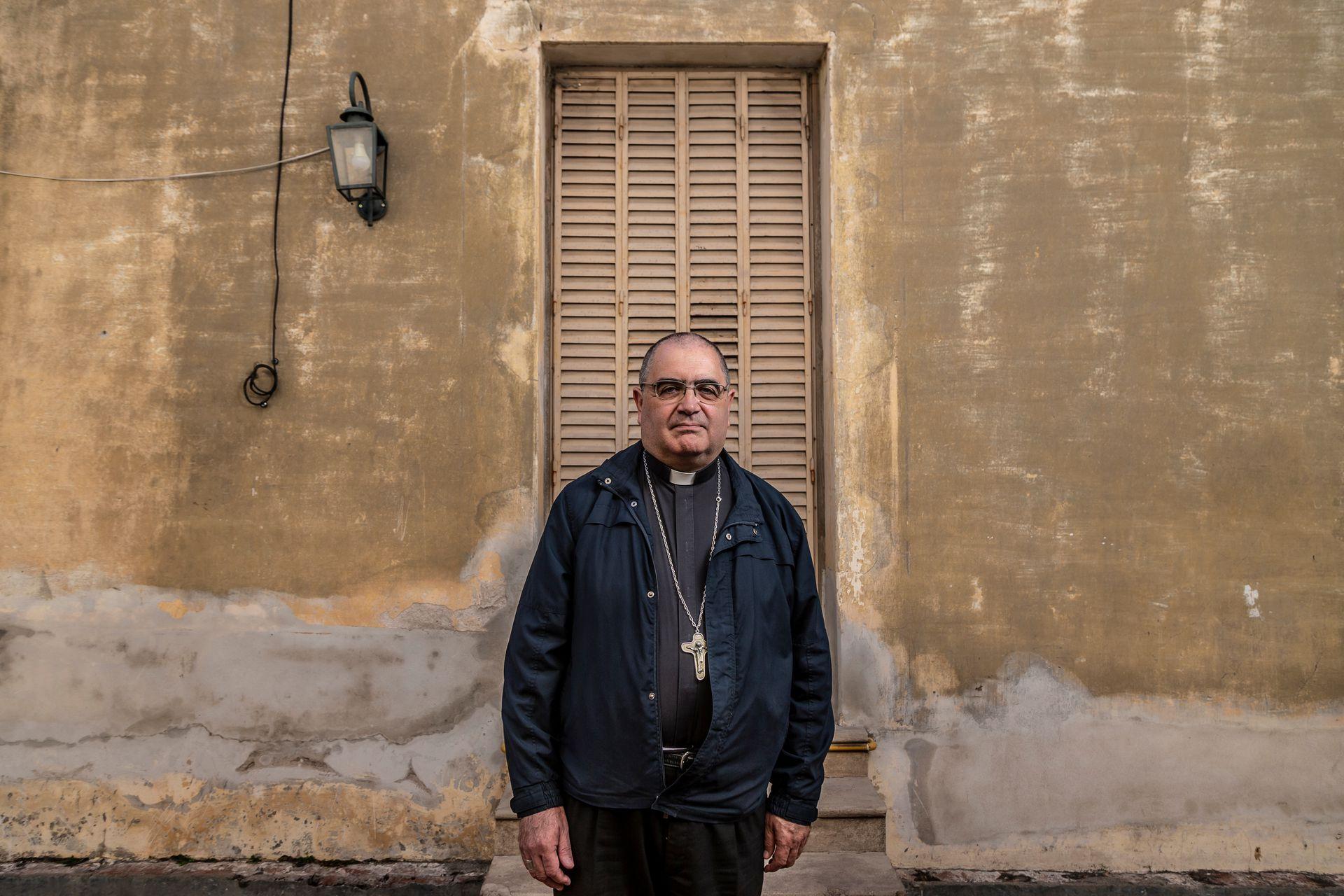 Monseñor Sergio Buenanueva, coordinador del Consejo pastoral de protección de menores y adultos vulnerables