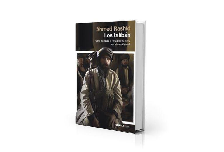 "Portada de ""Los talibán"", del periodista paquistaní Ahmed Rashid"