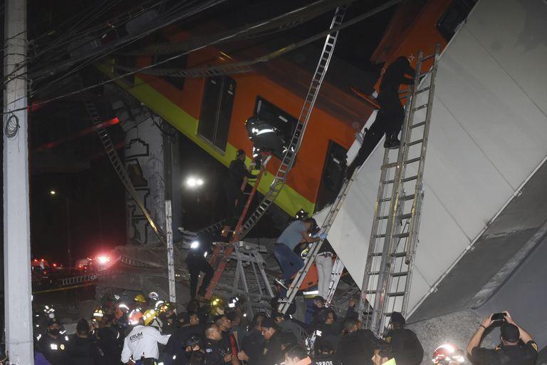 El accidente sucedió poco antes de las 22.30 y tuvo lugar cerca de la estación Olivos, de la Línea 12, en el sur de la capital