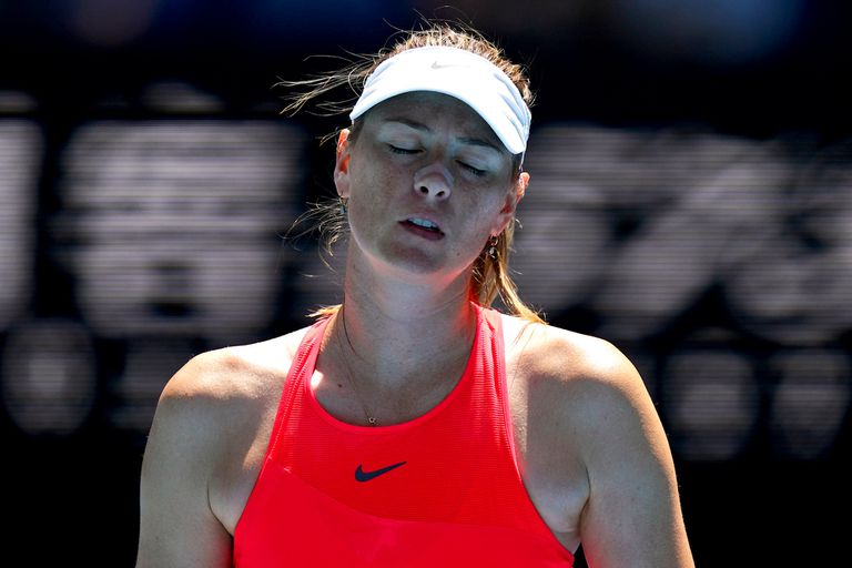 Maria Sharapova cayó en primera rueda ante Donna Vekic