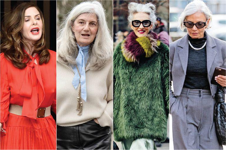 """Damas """"it"""". Las influencers de más de cincuenta que dan que hablar por su estilo"""
