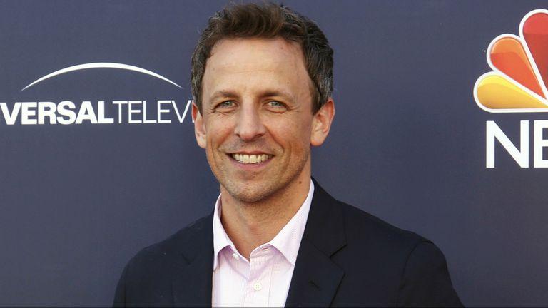 Seth Meyers, conductor de los Globo de Oro