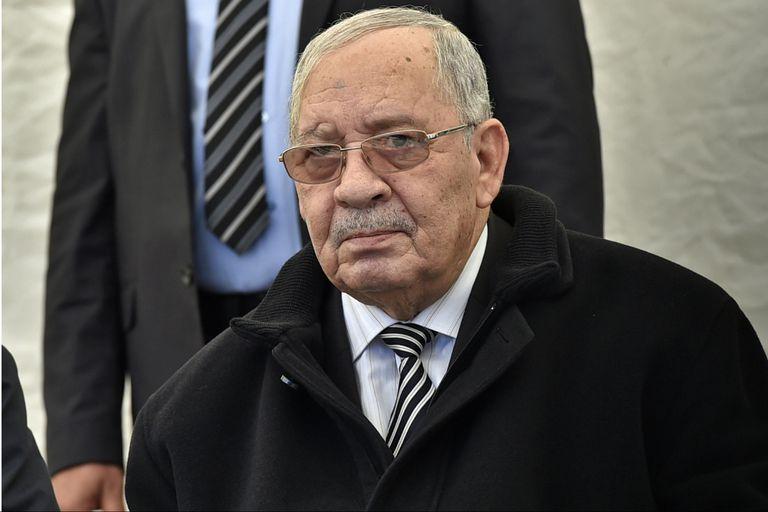 El teniente general Ahmed Gaid Salah, jefe de Estado Mayor de las Fuerzas Armadas de Argelia y viceministro de Defensa