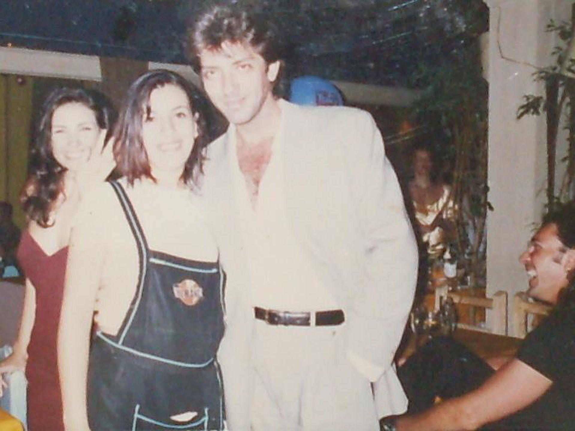 Gustavo Guillén, en pleno éxito de Perla Negra, también fue habitué de Ski Ranch.