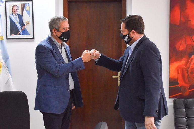Expectativa: el ministro Ferraresi se reunió con la Cámara de la Construcción