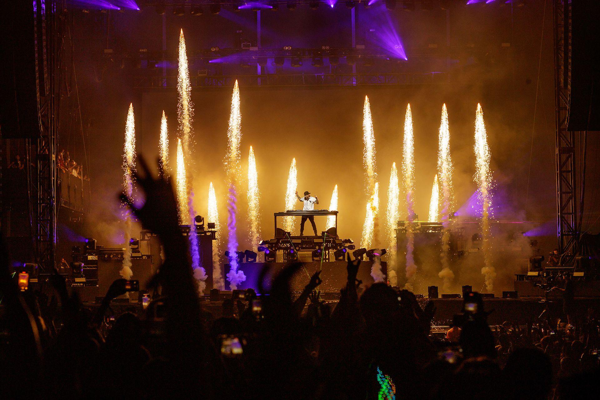 Los DJ, una de las principales atracciones del festival