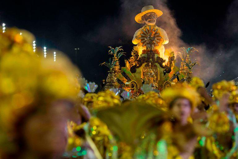 El desfile fue protagonizado por las mejores escuelas de Samba de Río de Janeiro