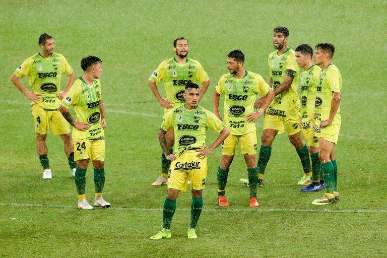 Defensa perdió en el último minuto del partido