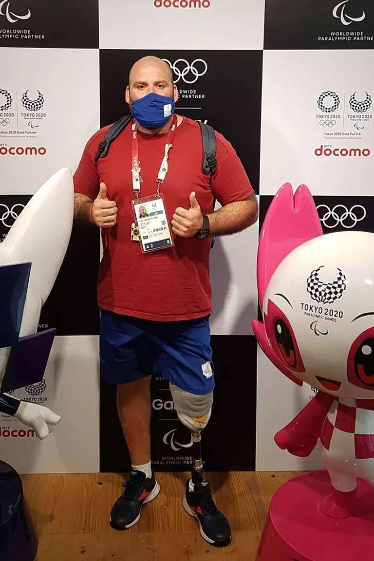 Pablo Giménez disfruta su primera participación olímpica en Tokio 2020