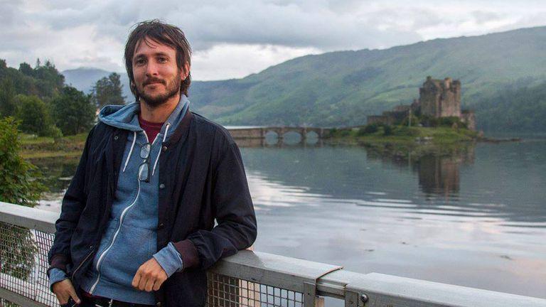 Gary Shea, de viaje en Escocia
