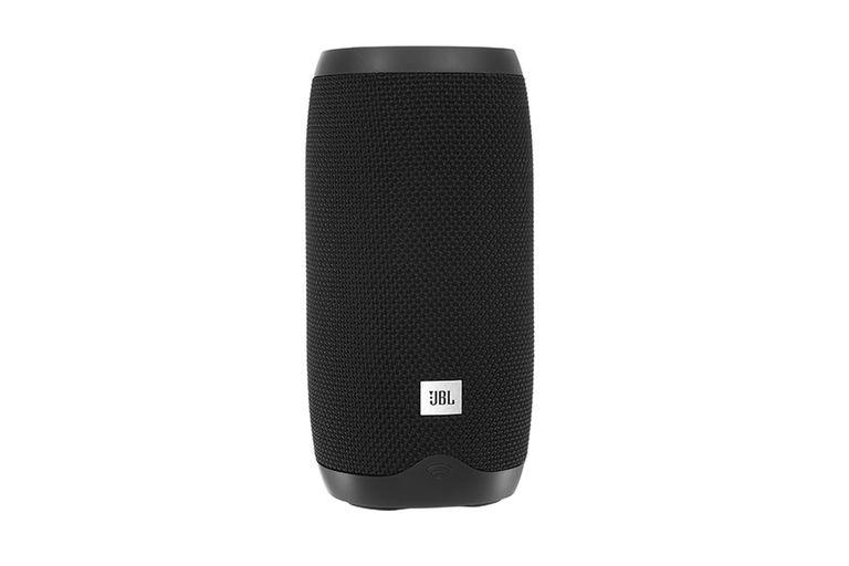 El parlante conectado JBL Link 10 cuenta con una autonomía de uso de hasta cinco horas, es compatible con los comandos de Google Assistant y es compatible con el sistema Chromecast