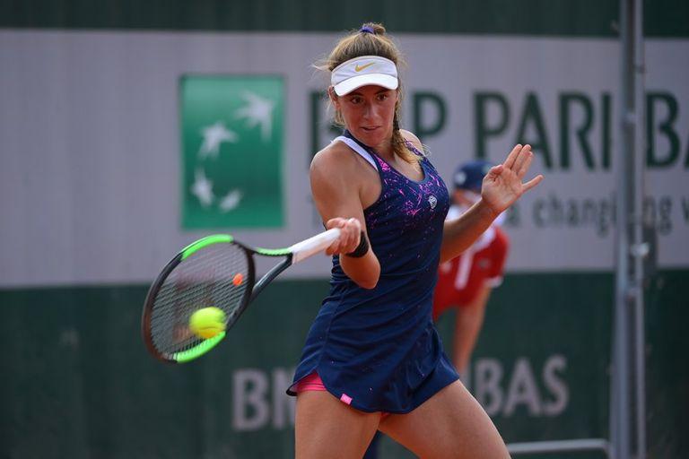 La marplatense Solana Sierra, de 16 años y 31° del ranking ITF, es el mayor proyecto junior del tenis nacional femenino; este año debutó en Roland Garros y cayó en la primera ronda.