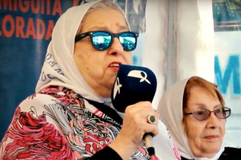 La presidente de la organización de Madres cuestionó el rol de los medios y el campo.