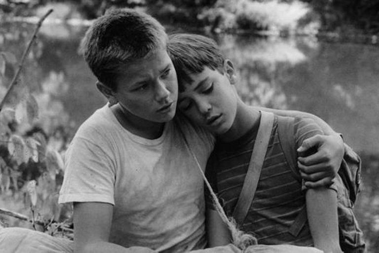 """River Phoenix (izda) en """"Stand by me"""", 1986, uno de sus primeros grandes éxitos en la gran pantalla"""