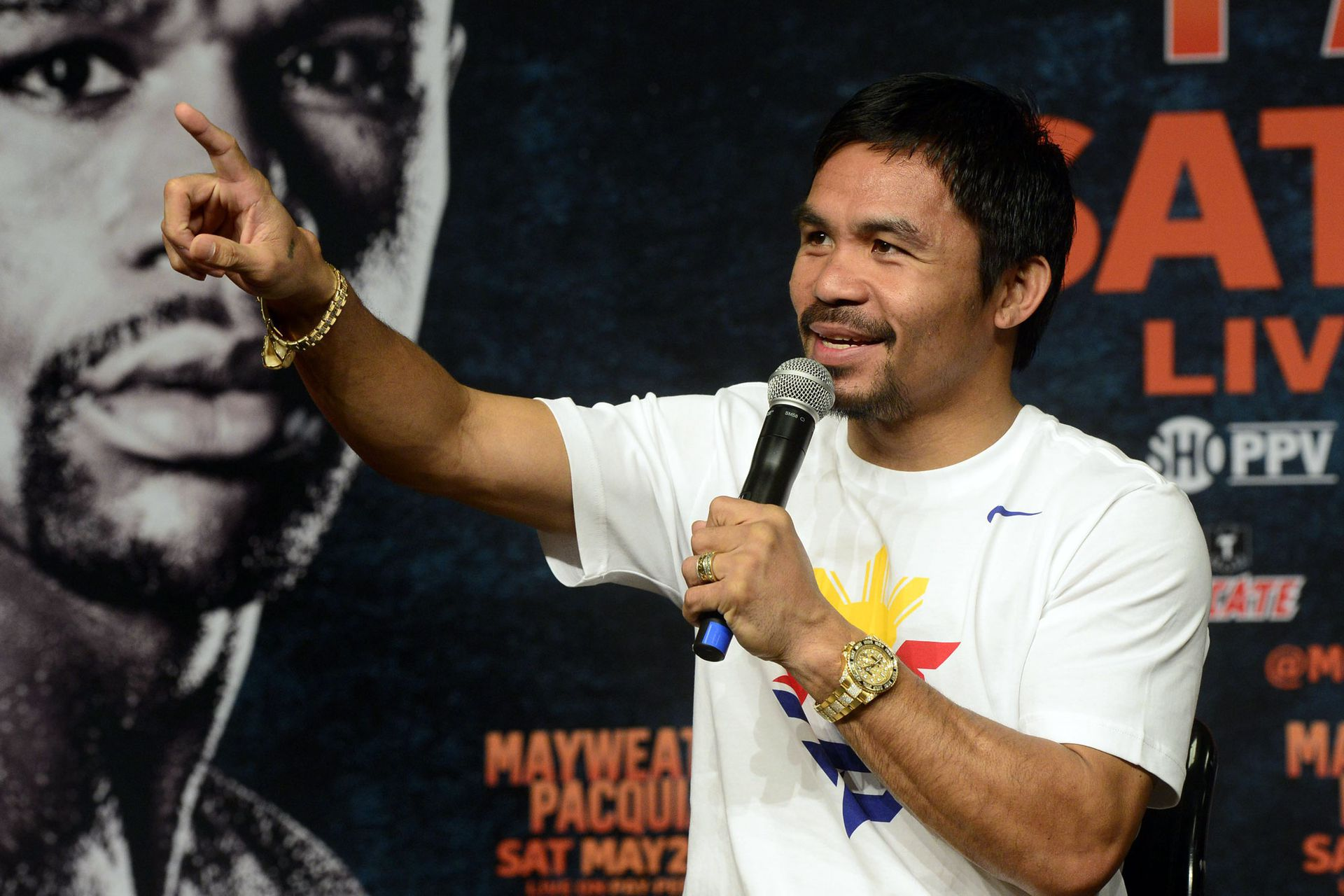 Manny Pacquiao, el ídolo filipino
