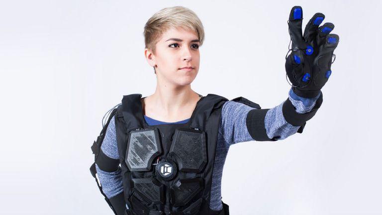 Nullspace VR trabaja en un traje háptico, que permita sentir en el cuerpo el contacto con objetos virtuales