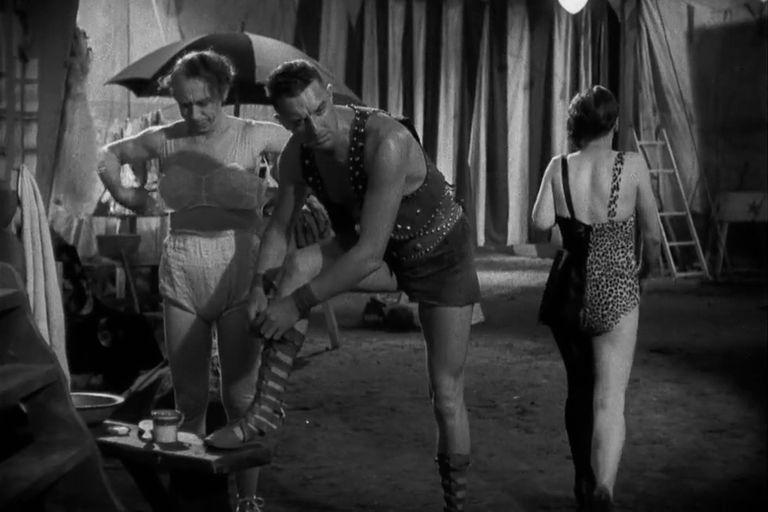 Hércules (Henry Victor), uno de los villanos de la película de Browning