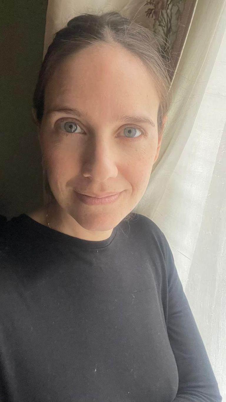 Lucía Fernández Núñez es emprendedora (33) y se vacunó con Sinopharm en el Luna Park.