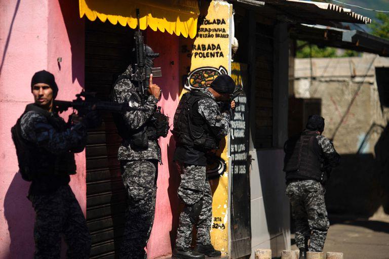 El operativo en Jacarezinho