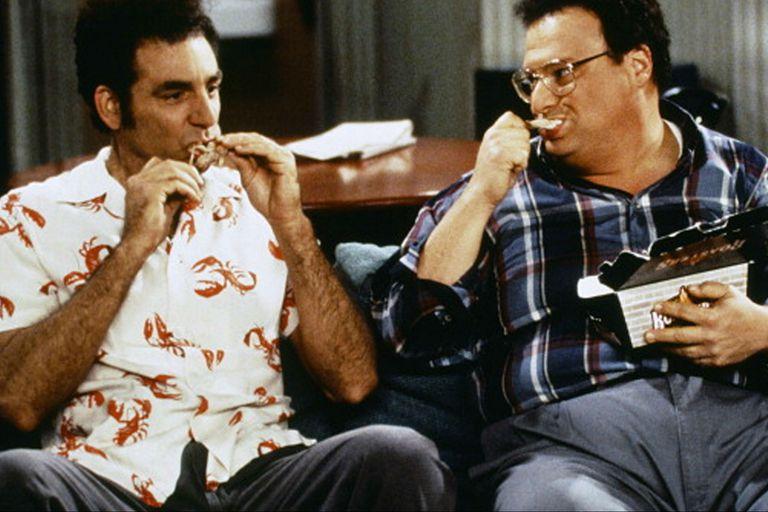 Kramer junto a Newman, uno de los muchos grandes secundarios que pasaron por la serie