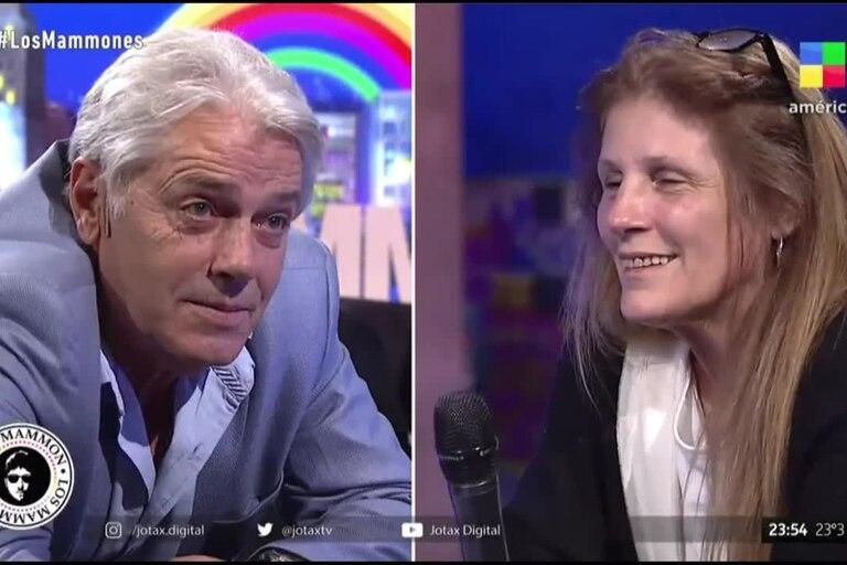 Silvestre fue entrevistado por Jey Mammon, quien convocó a la pareja del cantante y actor al piso; allí, todos protagonizaron un momento incómodo