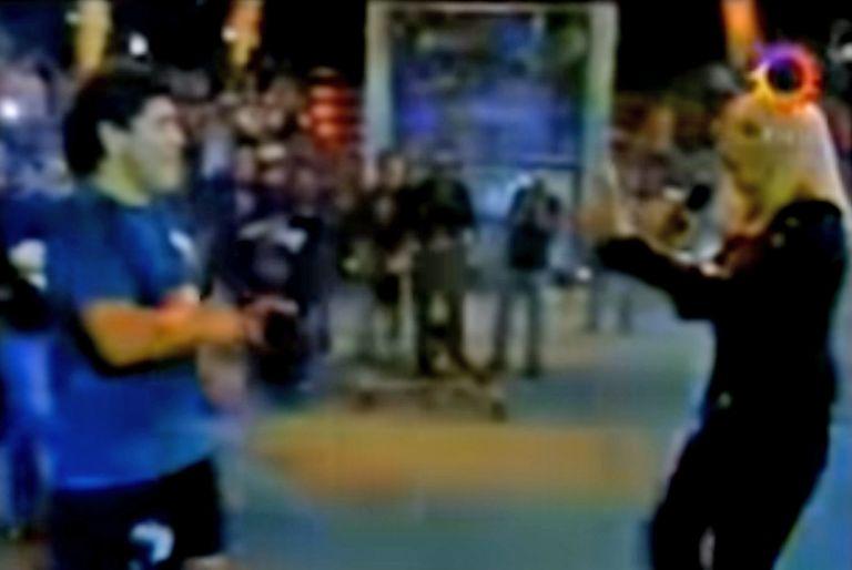 Cuando Raffaella Carrà hizo bailar a Diego Maradona