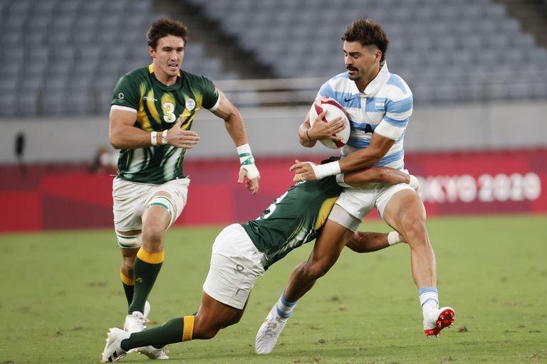 Los Pumas 7s ganaron un partido inolvidable ante Sudáfrica y estan en semifinales de los Juegos Olímpicos.