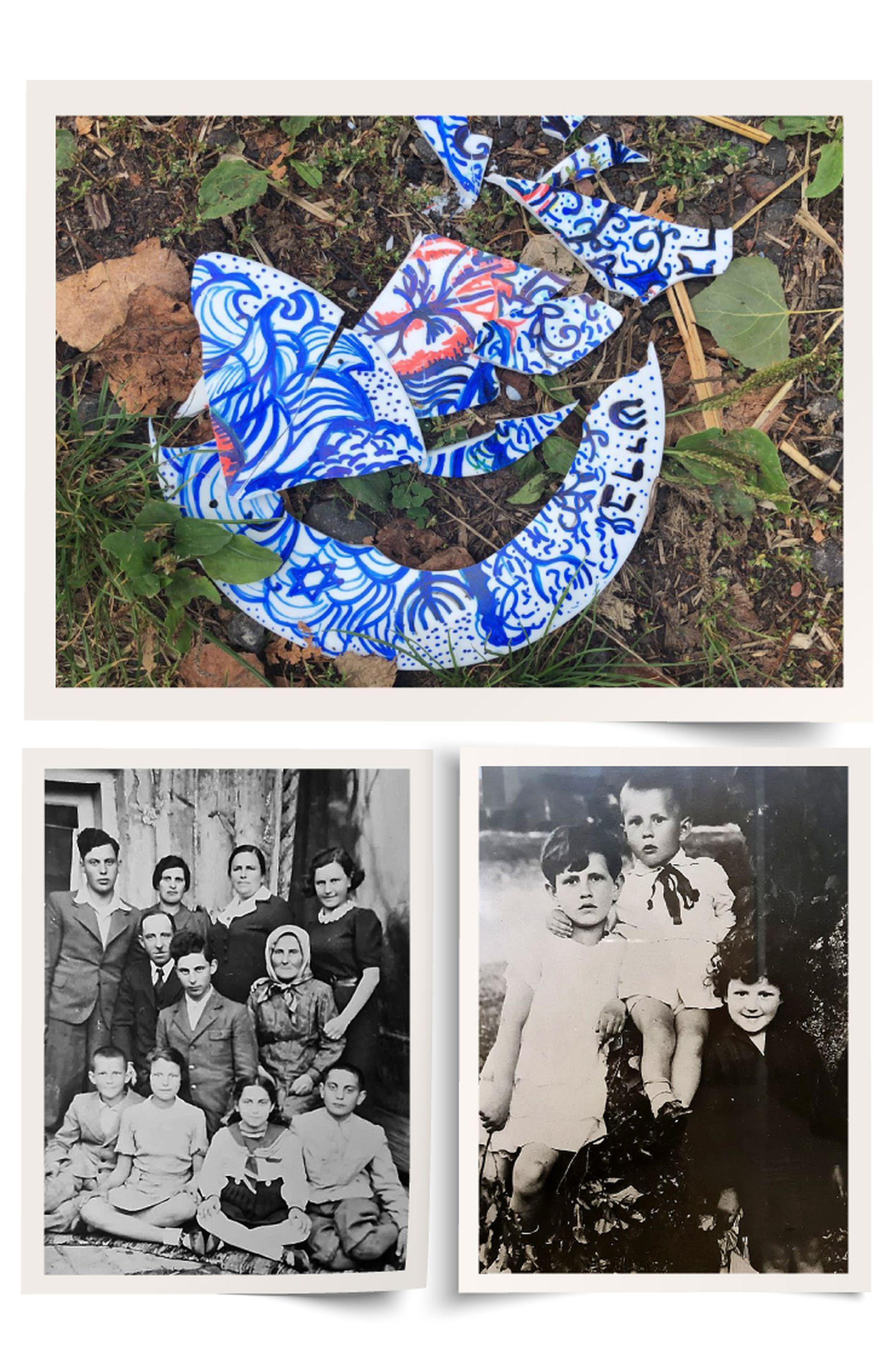 Como muchos inmigrantes, el abuelo de Nomi Grejniec vino a la Argentina en 1939 a probar suerte y a mandar dinero a Polonia: